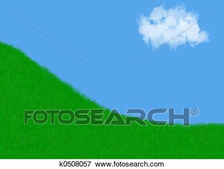 Grassy hill clipart 6 » Clipart Portal.
