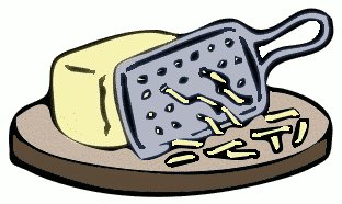 Showing post & media for Grated cheese clip art cartoon.