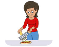 Grater Clipart.