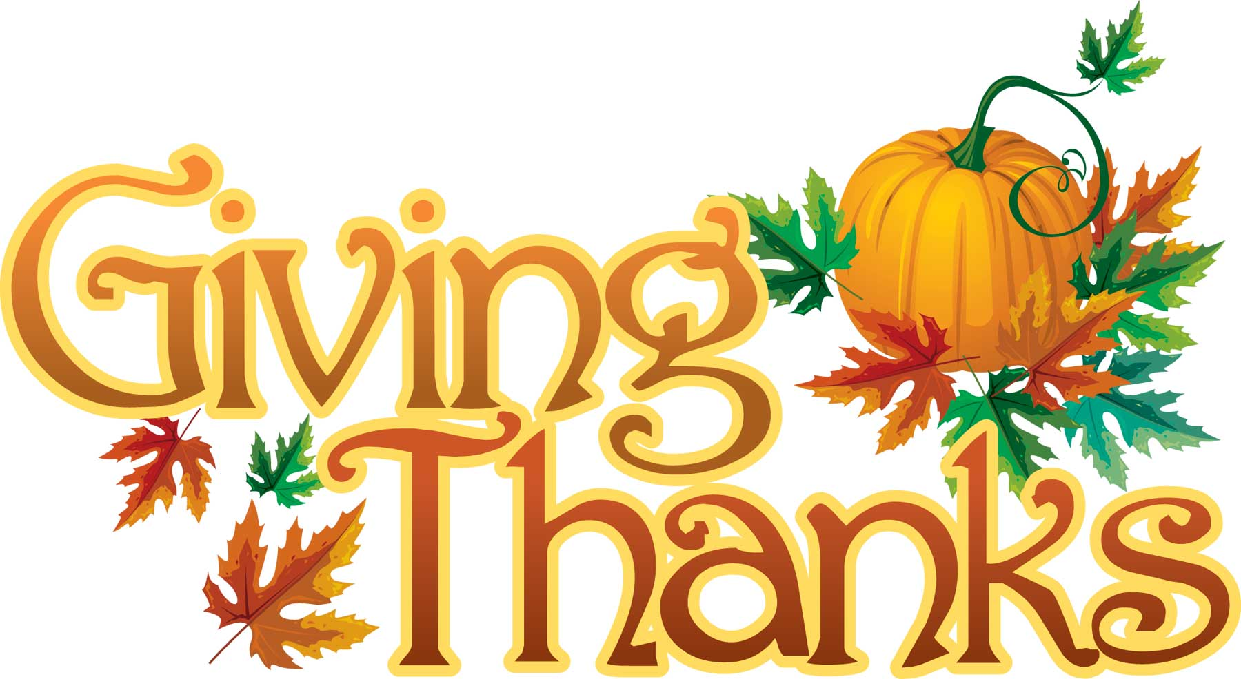 Thankful and Grateful Clip Art.