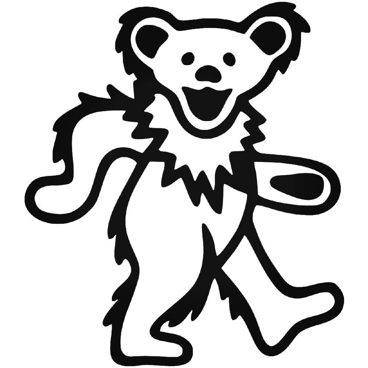 Grateful Dead Bear 1964 Sticker.