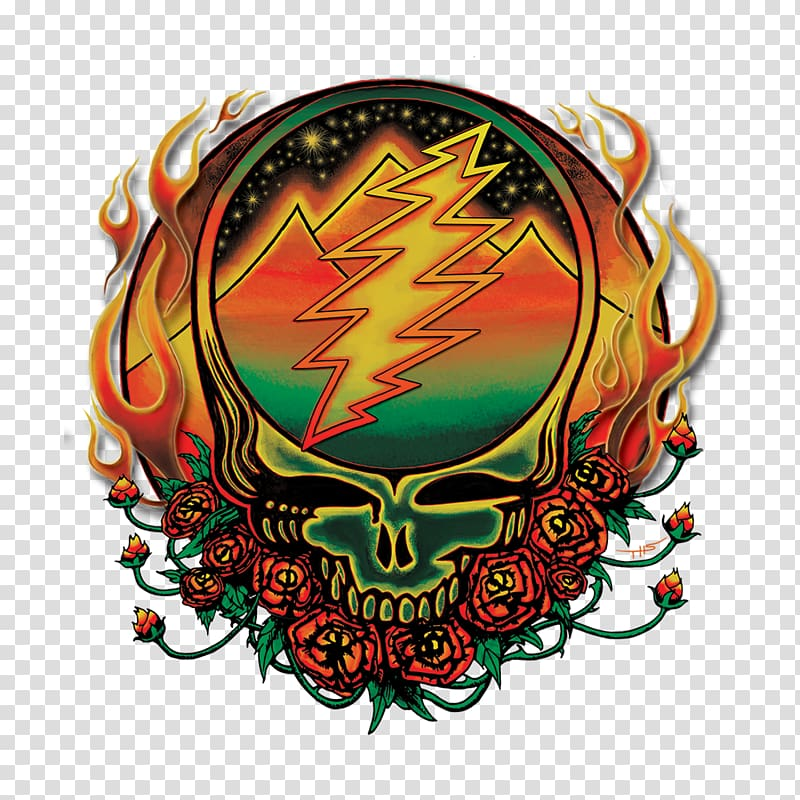 Winterland Ballroom Grateful Dead Steal Your Face Deadhead Decal.