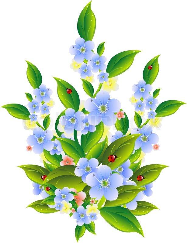 Gratis clipart blomster 5 » Clipart Portal.