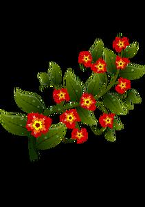 2584 blomster gratis free clipart.
