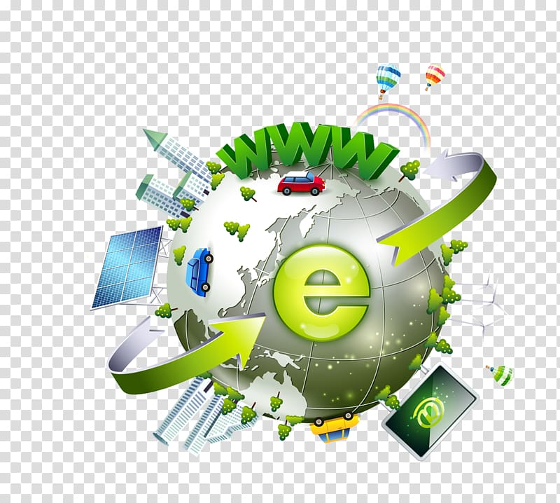 Internet Explorer logo illustration, Gratis Global village.