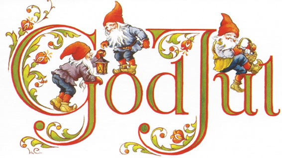 Clipart God Jul.