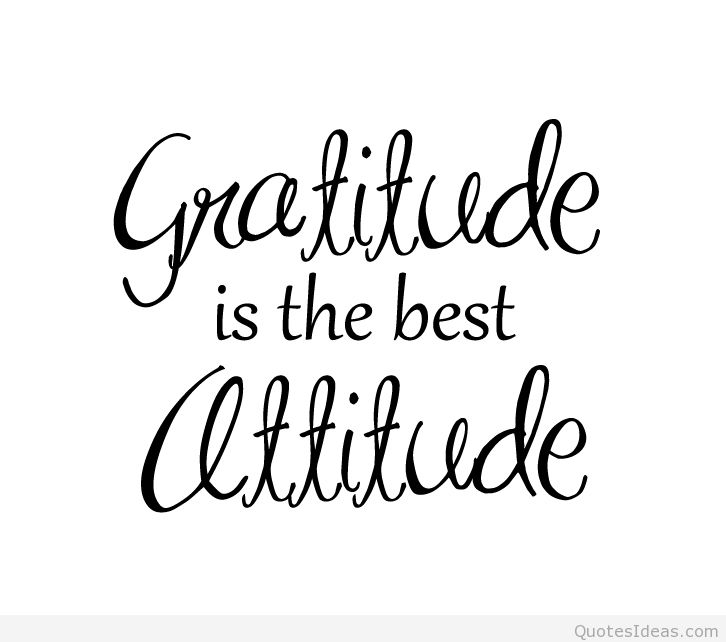 Gratitude Clip Art with Attitude.