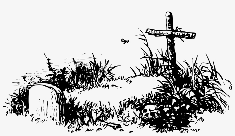 Picture Free Library Grave Big Image Png.