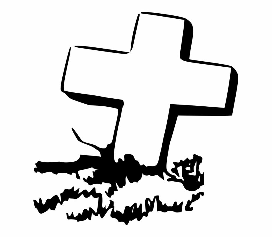 Coffin Clipart Cross Grave Clip Art.