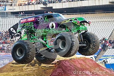 Grave Digger Monster Truck #786IBs.