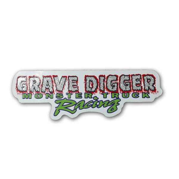 Grave Digger Logo Sticker.