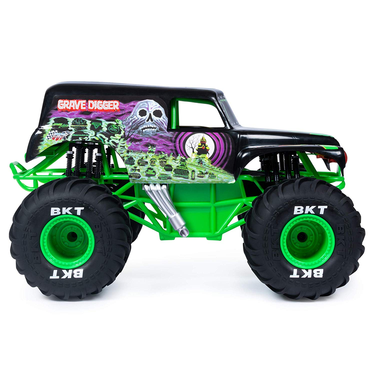 Buy Monster Jam 6047106, Official Grave Digger Rc Truck, 1.