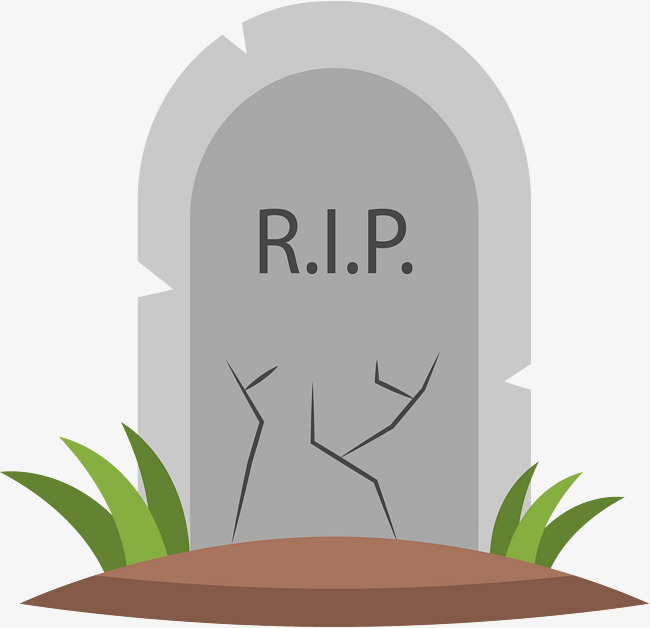 The Grassy Grave, Vector Png, Grave, Tombstone PNG and Vector with.