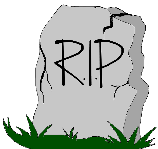 Funny Cartoon Gravestones.