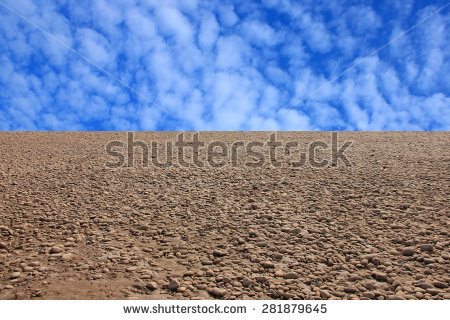 Gravel River Bed Stock Photos, Royalty.
