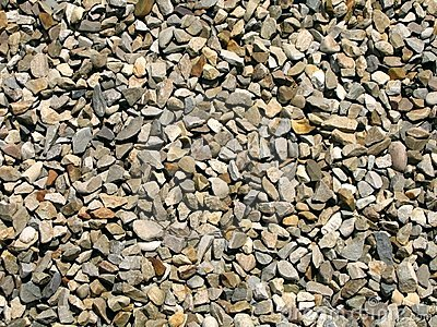 Large Piece Gravel Royalty Free Stock Images.