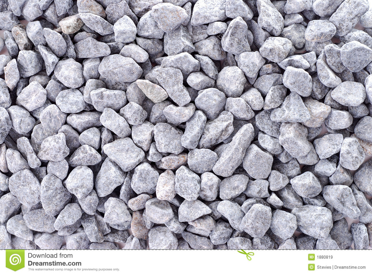 Gray Gravel For Background Royalty Free Stock Images.