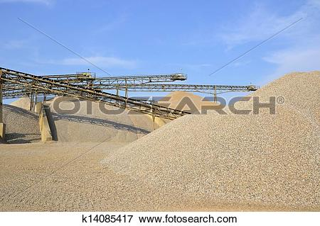 Picture of Sand and gravel in a gravel pit k14085417.