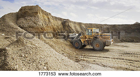 Stock Photo of Gravel pit 1773153.