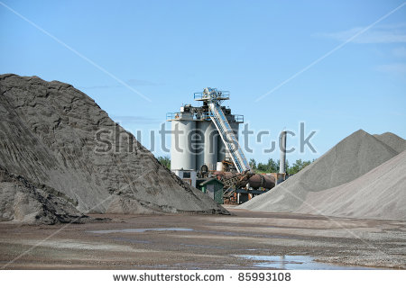 Gravel Pile Stock Images, Royalty.