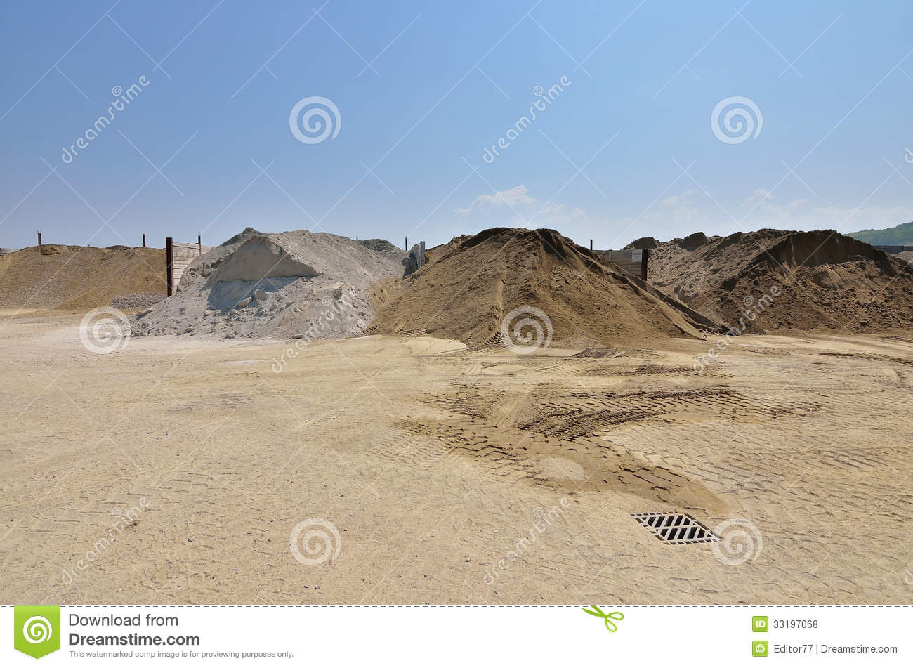 Gravel And Sand Royalty Free Stock Photos.