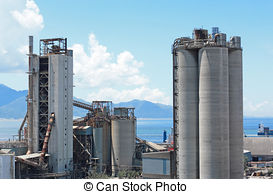 Pictures of gravel manufacturing plant.