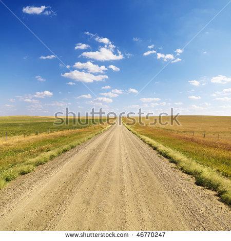 Dirt road clipart overhead.