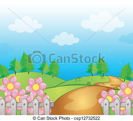 Clipart no lines gravel road drawing.