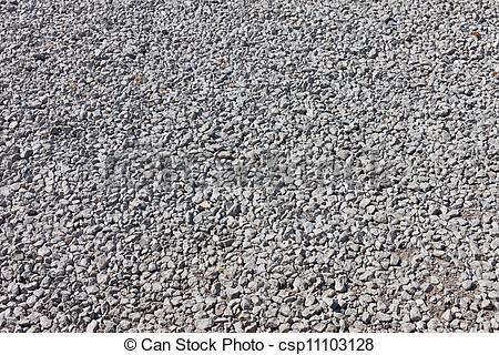 Stock Photo of Road stone gravel texture background.
