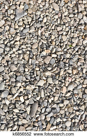 Stock Photo of Road stone gravel texture to background k6856552.