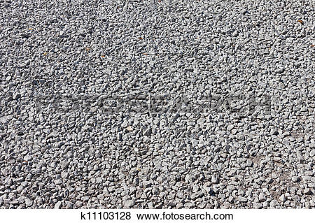 Pictures of Road stone gravel texture background k11103128.