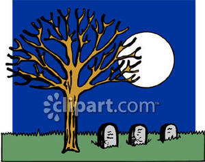 a_group_graves_under_a_full_moon_royalty_free_080902.