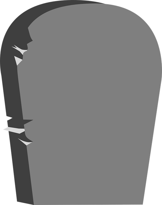 Headstone Clipart transparent PNG.