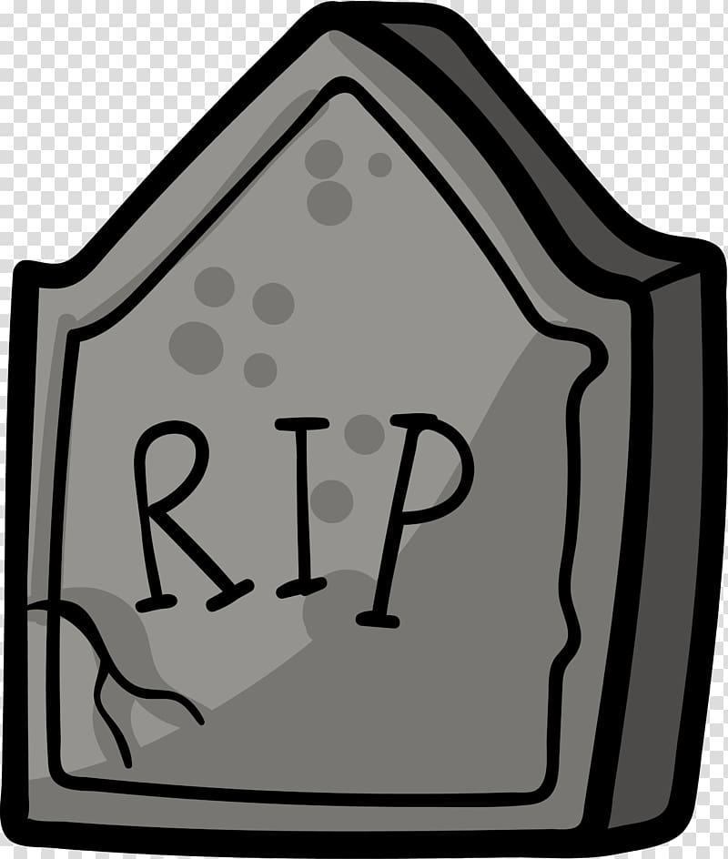 Grey tombstone illustration, Headstone Grave Drawing Tomb.