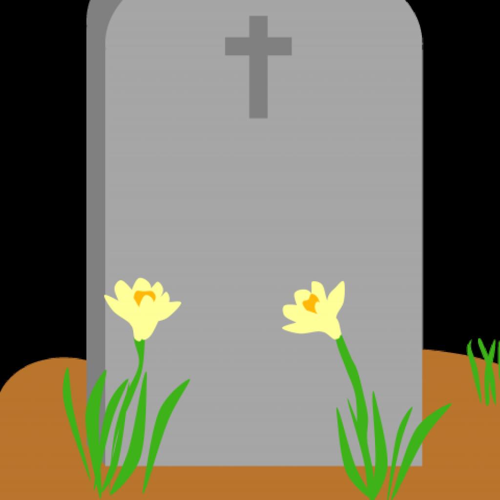 Tombstone Clipart Cross Top.