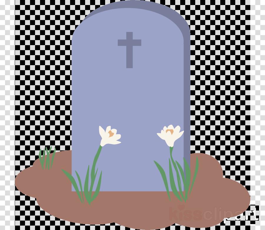 headstone cross grave grass symbol clipart.