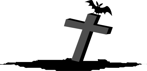 Cross Graveyard Rip Clip Art at Clker.com.