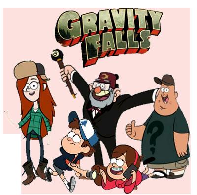Gravity Falls Clipart.
