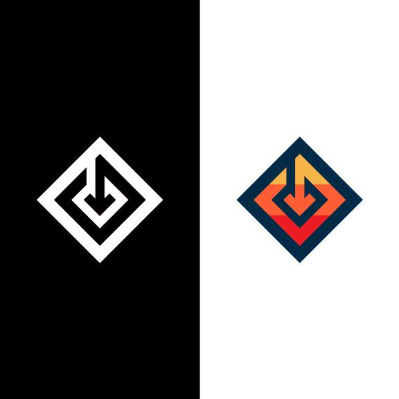 Gravity Logo Concept.