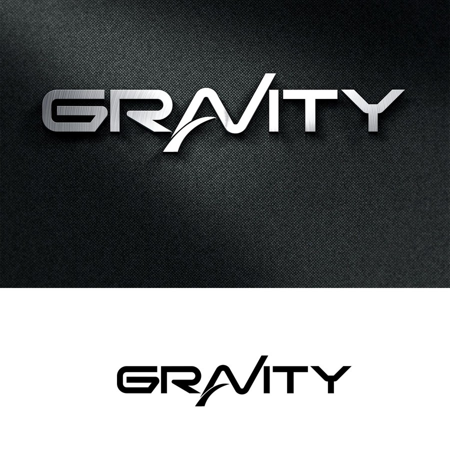 Entry #94 by tontonmaboloc for Gravity Logo Design Contest.