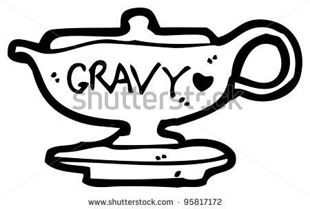 Gravy Boat Clipart.