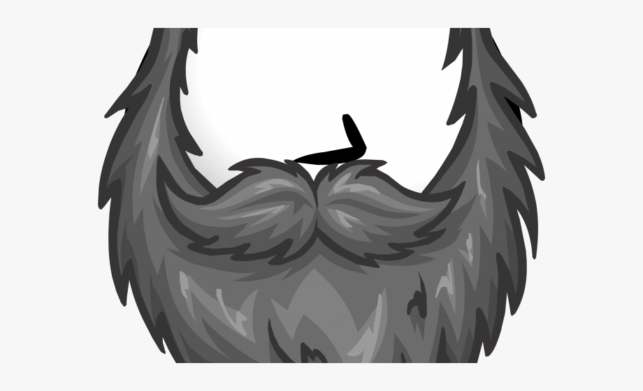 Beard Clipart Grey Beard.