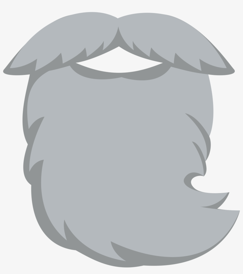 Beard Clipart Grey Beard.