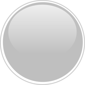 Gray Button Clipart.