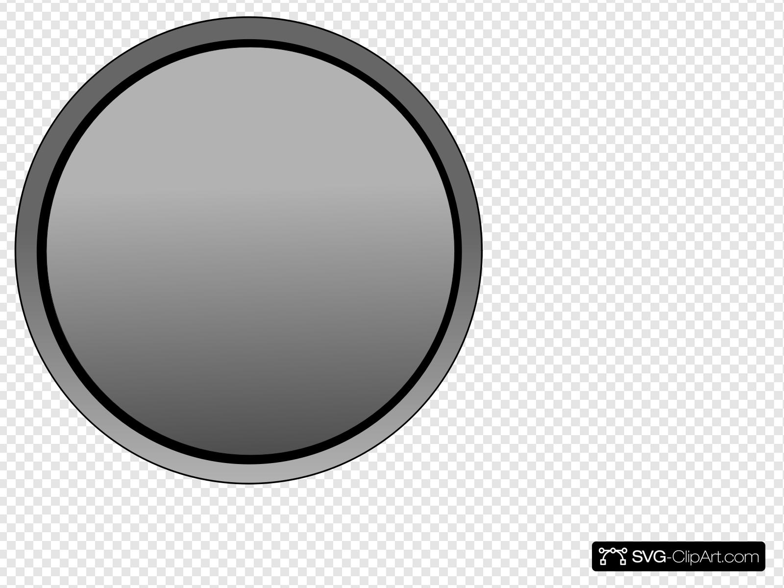 Gray Button Clip art, Icon and SVG.