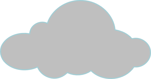 Gray Clouds Clip Art at Clker.com.