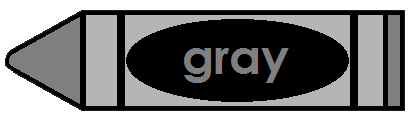 Gray crayon clipart clipart images gallery for free download.