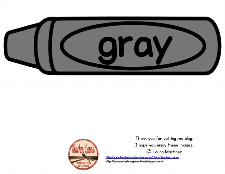 Grey Crayon Clipart.