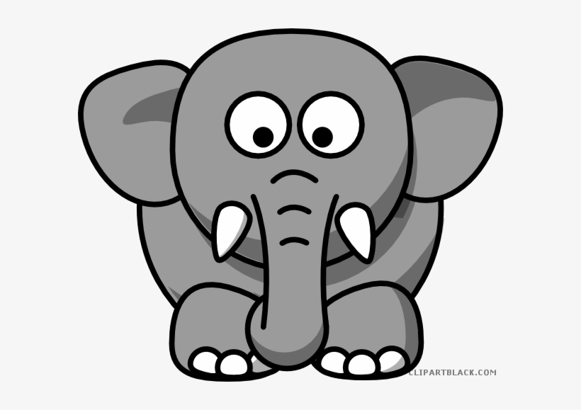 Png Transparent Download Grey Elephant Clipart.