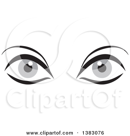 Gray Eyes Clipart Clipground